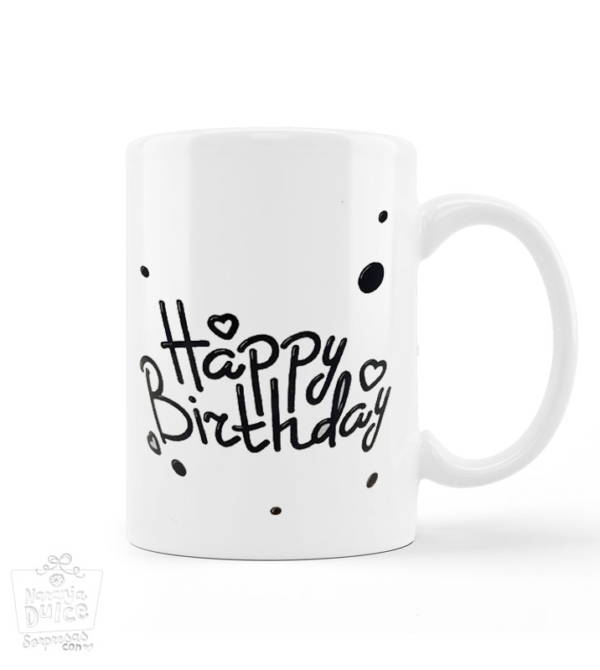 Taza happy Birthday