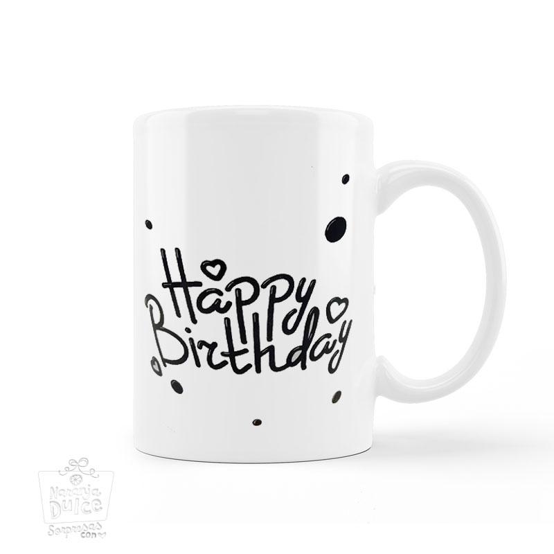 Taza happy Birthday