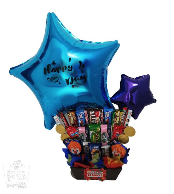 paquete de dulces